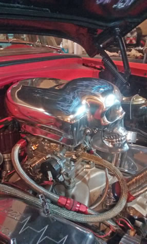 Skull Air Intake
